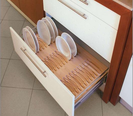 complementos de madera para organizar los cajones de la cocina cocinas con estilo consejos
