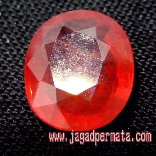 Batu Mulia Padparadscha Sapphire