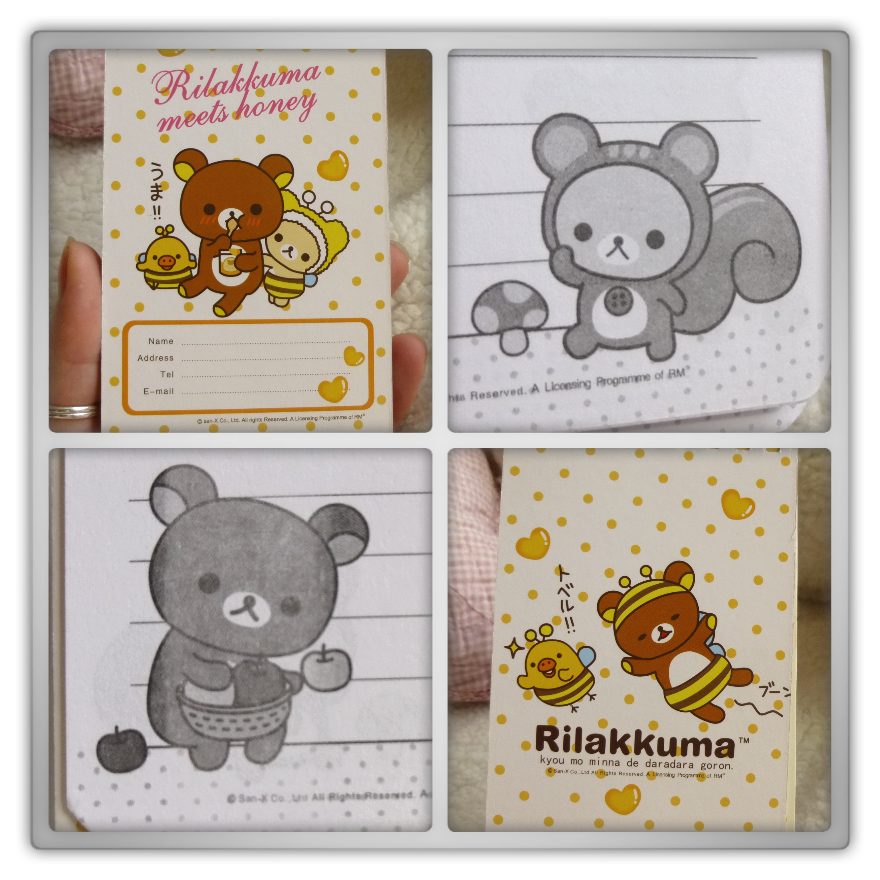 Blippo haul review shoplog rilakkuma kiiroitori korilakkuma notepad bee meets honey preview kawaii