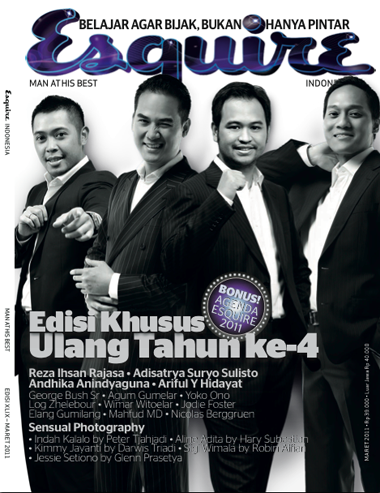 ESQUIRE INDONESIA BY ADI SURANTHA