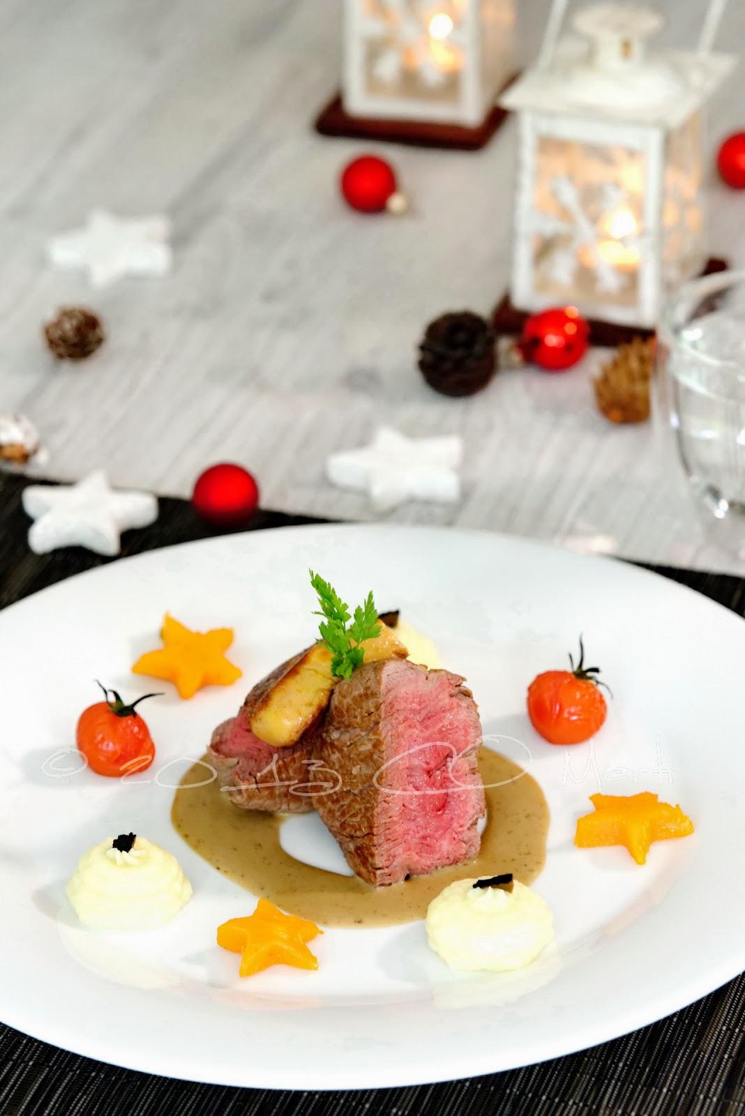 Plat principal pour les f tes boeuf foie gras et f ve - Repas de fete leger ...