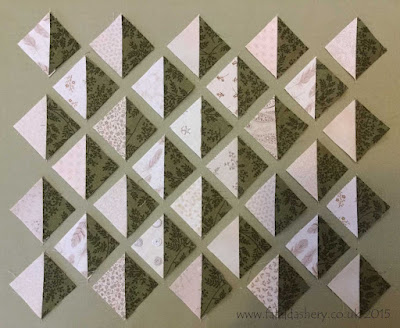 Allietare Bonnie Hunter Mystery Quilt 2015 - Part 1