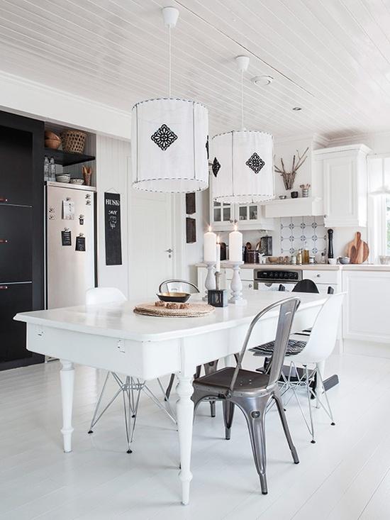 Decoración nórdica - HomePersonalShopper, blanco y negro