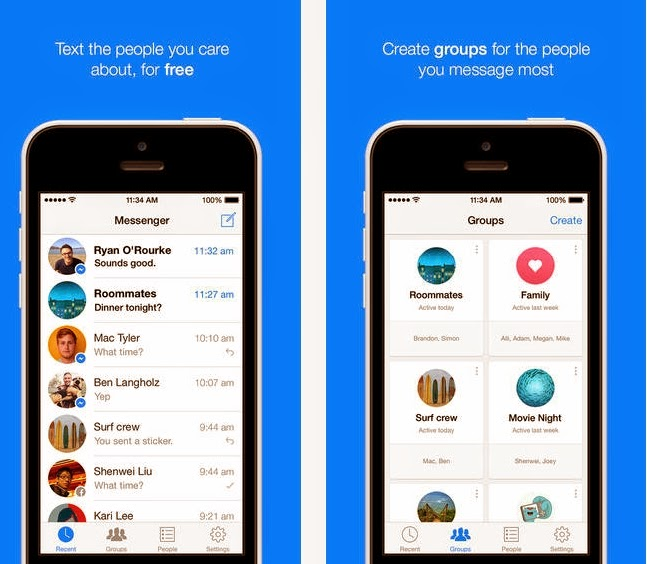 Facebook Messenger app, Facebook Messenger, Facebook Messenger app for Smartphones, Facebook Messenger app for tablets, available, mobile, free apps, Download Facebook Messenger app,