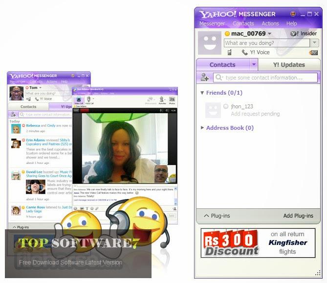 Yahoo! Messenger Free Download - softwarevillacom