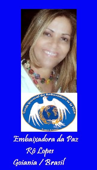 Embaixadora Universal da Paz