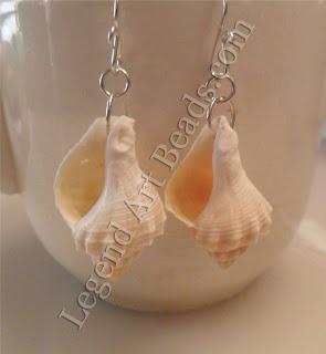 Shell Earrings Conch Shell