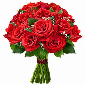 Red Rose Flowers basket delivery in Algeria