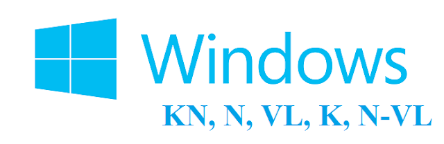 Ý nghĩa của các ký hiệu KN, N, VL, K, N – VL trong các bản Windows