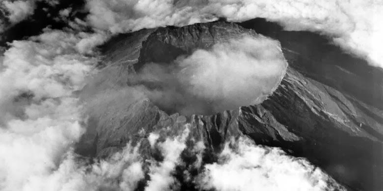 Sejarah Letusan Gunung Kelud