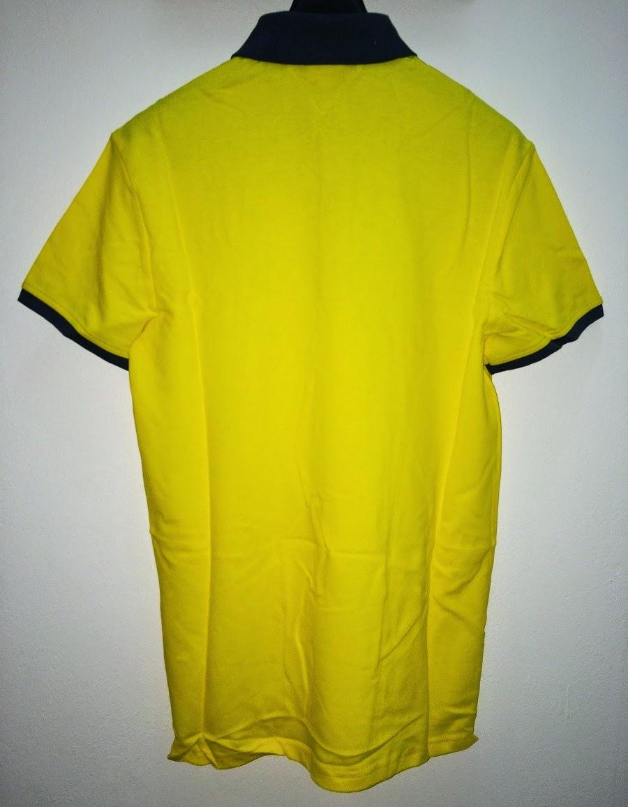 Baju Bola Polo GO Dortmund Yellow Official 2014-2015
