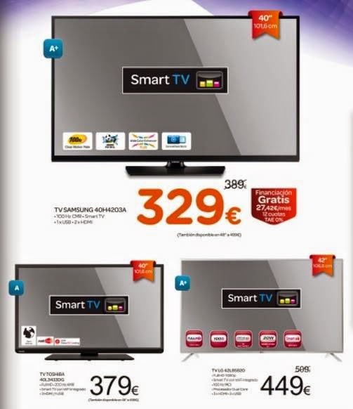 Ofertas de TV Carrefour Fin de Año 2014