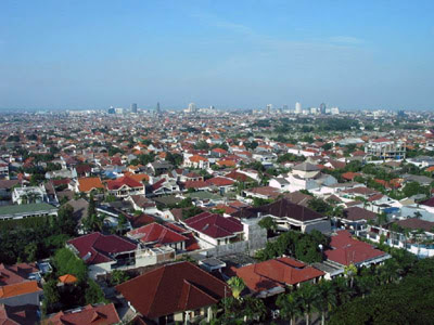 image of modern day surabaya indonesia while surabaya today is a