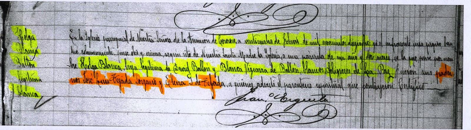 Genealog a en bolivia ballon mi apellido paterno for Cementerio jardin la paz bolivia