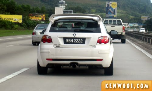 2222 car number plate