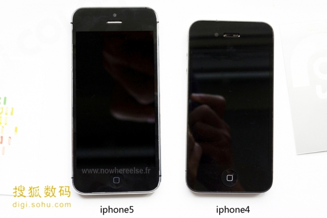 iphone 5 front screen leaked photo
