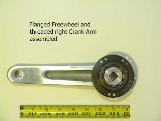 My solar electric cargo bike freewheels and bearing drag for Freewheel sprocket for electric motor
