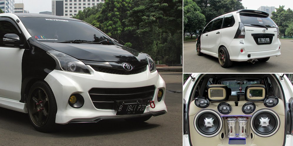 Modifikasi bemper avanza veloz dan body kit