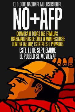 Jornada Nacional de Movilización del NO+AFP's