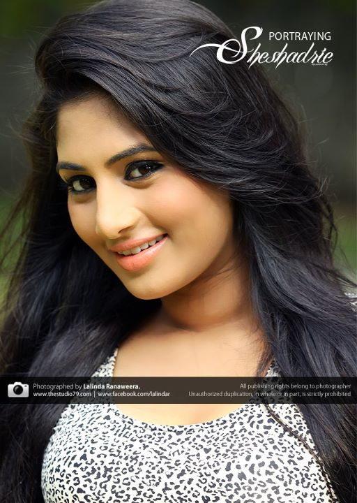 Sri Lankan Cute Actress Sheshadri Priyasad School Hot Pictures