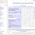 Generador de sopas de letras y crucigramas online