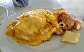 Kreasi sarapan sehat lucu untuk si kecil berbentuk boneka teddy bear lagi tidur
