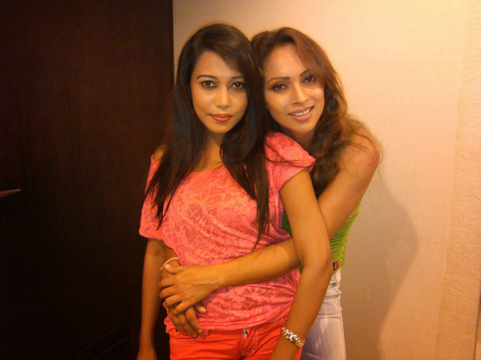 Rashmi with thilini hot