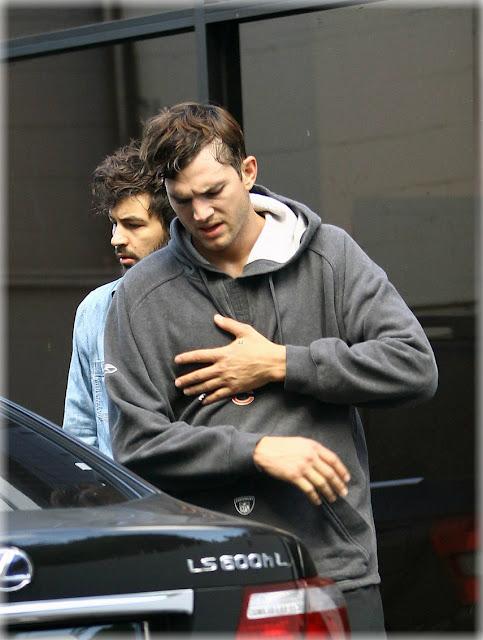 Ashton Kutcher entrenando Jiu Jitsu.