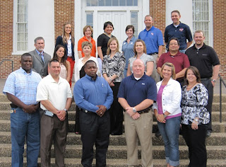 Photo of the inaugural cohort of SHSU High Potential Leadership Academy, including members from TDCJ