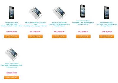 Indosat Juga Buka Pemesanan iPhone 5