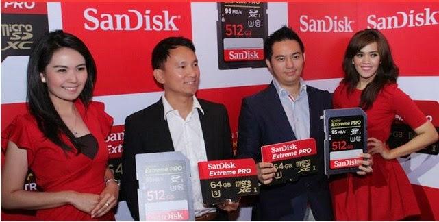 SD Card (Memory Card) Kapasitas Terbesar di Dunia Dijual Rp 11 Juta