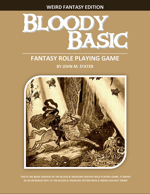 Bloody Basic - Weird Fantasy Edition