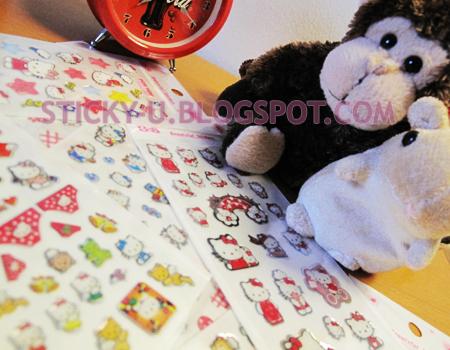 027: Hello Kitty's 3D Crystal Sticker
