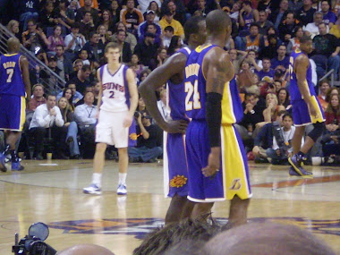 Suns vs Lakers 12/28/09