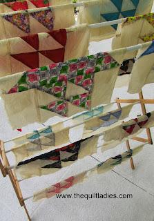 Sail boat quilt blocks