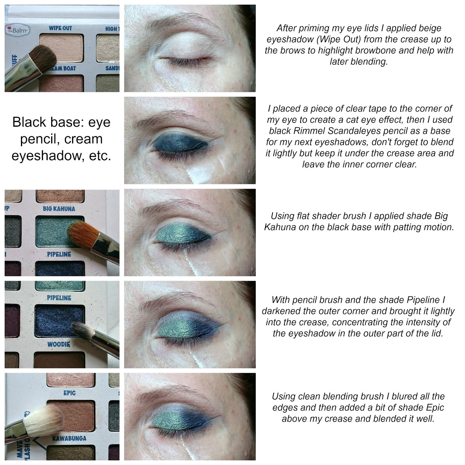 Mermaid eye makeup tutorial