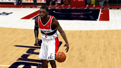 NBA 2K13 John Wall Cyberface 2K Patch