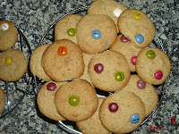Cookies de lacasitos-enfriando las cookies