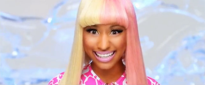 nicki minaj super bass. Nicki Minaj is stealing the
