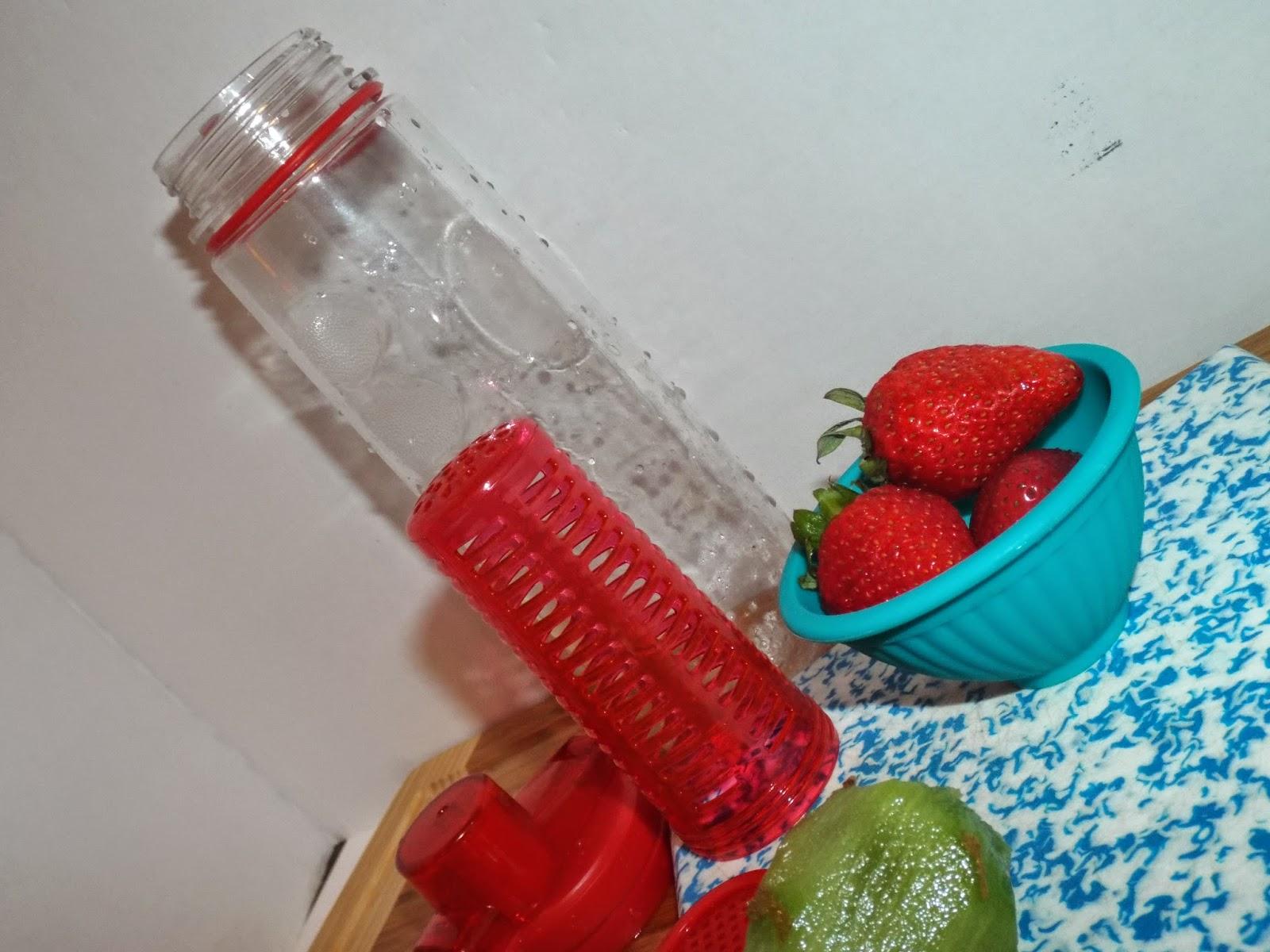 FlavFusion Water Bottle