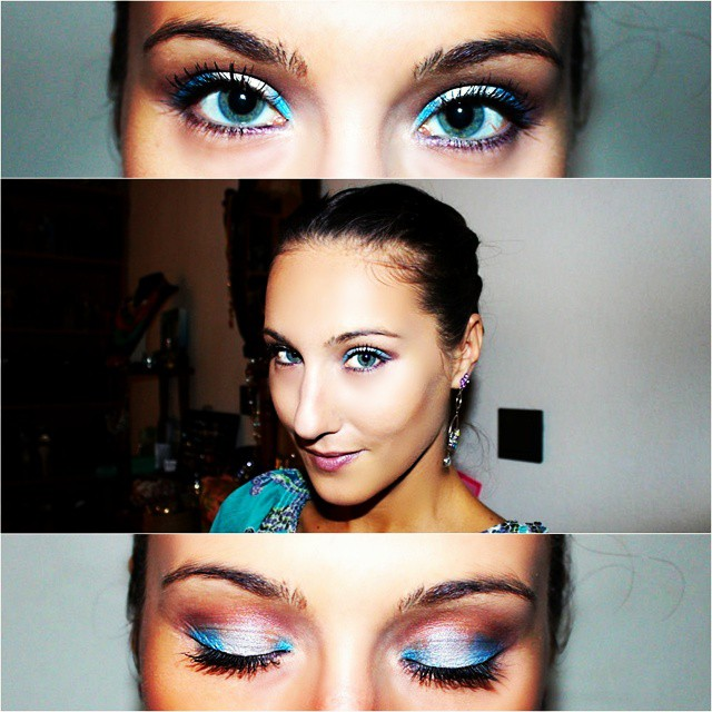 Instagram @lelazivanovic. Makeup of the day. Makeup and beauty blogger.