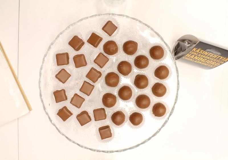 käsintehtyä Suklaata