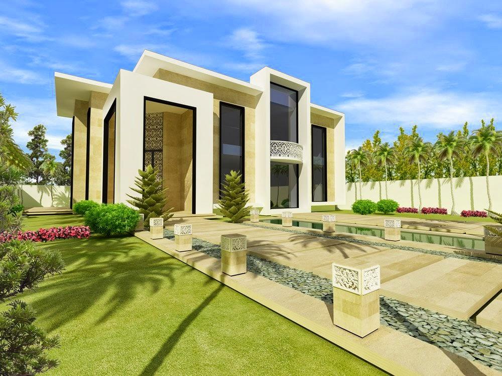 Desain Rumah Minimalis Gaya Eropa 4