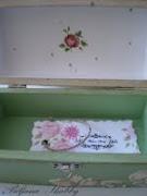 Decoupage drvena kutija
