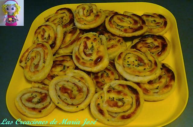 Rollitos De Jamón Y Queso