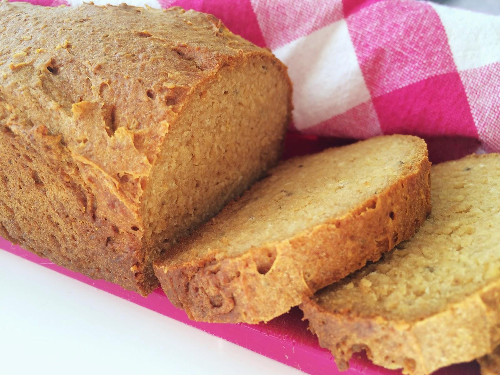 glutenfritt bröd i form