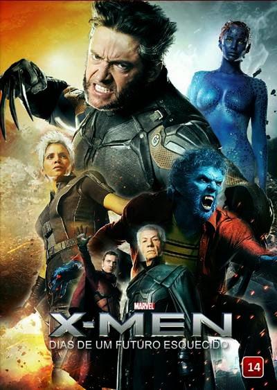 X-Men Dias de um Futuro Esquecido AVI + 720p Dual Audio + RMVB Dublado