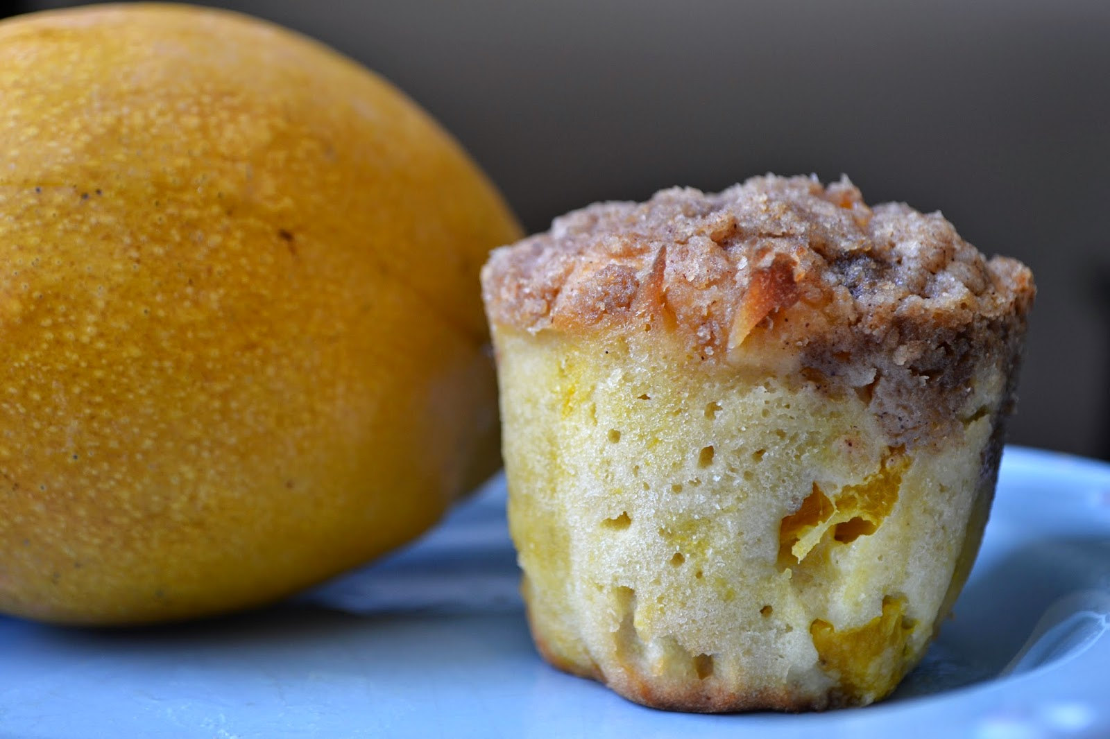 The Staycationer: Easy Mango Muffins