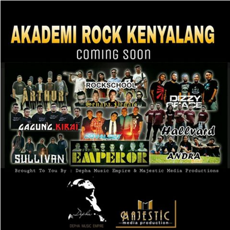 Akademi Rock Kenyalang (ARK) Vol. 1