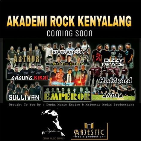 Akademi Rock Kenyalang (ARK) Vol. 1